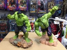 "New 10"" Hulk Avengers Age of Ultron Action Figure Statue Maquette Recast Crazy Toys 26cm H, Two color optional"