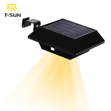 T-SUNRISE 6 LED Solar Lamp Garden Gutter Light with Solar Panel LED Solar Light Street Light Eaves Lamps for Outdoor Lighting(China)