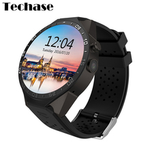 2016 New Smartwatch KW88 Smart Watch 3G WIFI SIM Heart Rate Monitor Watch Phone GPS Tracker Andriod IOS 2.0M Camera Bluetooth