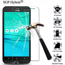Screen Protector 9H Premium Tempered Glass Film For Asus ZenFone Go ZB500KL ZB500KG 5.0inch Anti-Explosion Protective Films Case