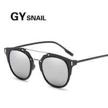 GY Fashion Cat Eye Sunglasses Women Alloy Frame Brand Designer lively Sun glasses Classic Shades UV400(China)