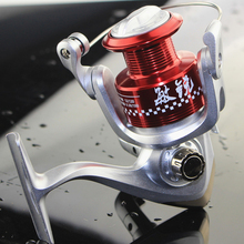 Exchangeable Rocker MR3000 Red Color Spinning Reel 12+1BB Metal Fishing Reel(China)