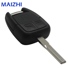 maizhi 3 Buttons Uncut Blade Car Remote Key Shell Flip Fob For Vauxhall Opel Vectra Astra For Omega(China)