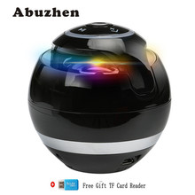 Abuzhen Bluetooth Speaker Mini Speaker Portable Support TF FM Caixa De Som Subwoofer Speaker with Mic for iPhone Samsung Xiaomi(China)