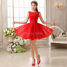 Shanghai Story fashion Red Lace short fashion sexy dress for wedding for party Club dresses 9 options