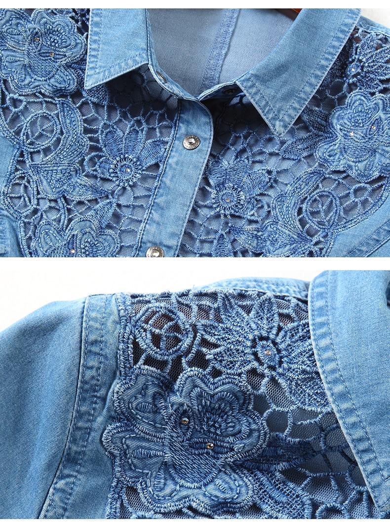 Lace Shirt Denim (12)