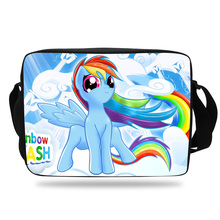 Hot Sale Girls Shoulder Messenger Bags Cartoon My Little Poly Shoulder Bag For Children School Kids Shoulder Bag For Boy Teenage