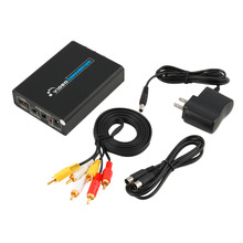 Hot newest HDMI Input Digital to RCA Analog Audio/Video CVBS/S-video Output Converter hot sale