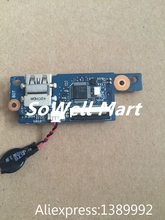 Original laptop IO board for Asus UX32VD USB / BIOS battery / SD Card Reader Board 60-NIOPO1100