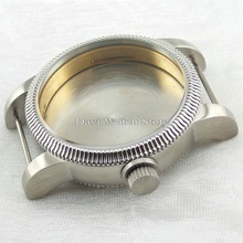 46mm stainless steel watch case for eta 6497 6498 Seagull st36 movement