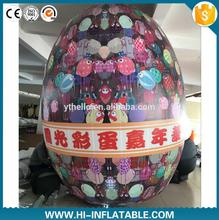 4m Popular festive customized coulurful giant fashion inflatable easter egg for easter decoration