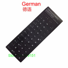 2 PCS Laptop Computer German Keyboard Stickers For Macbook Air Pro 11 13 15 English Keyboard Protector Cover Sticker