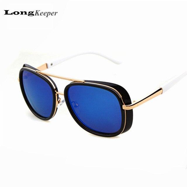 New Iron Men Style Sunglasses Steampunk Sunglasses 2016 Steam Punk Sun Glasses Brand designer Retro Goggles oculos de sol TY3117<br><br>Aliexpress