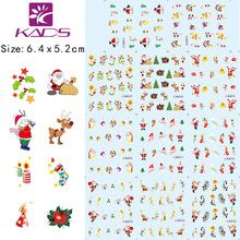 11Sheet/SET Christmas nail sticker DECAL BLE111-132 Serie water transfer nail art stickers for sticker decal for nail art
