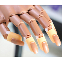 Beauty hand 100pcs Refill Replace False Finger Tips For Flexible Training Practice Trainer Hand Nail Art Tools Replacment 2016