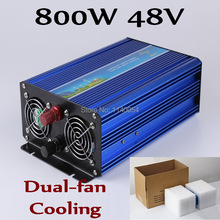 New Design 800W Inverter 48V DC to AC 110V or 230V with 1600W Surge Power, 800W Pure Sine Wave Power Inverter(China)
