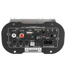 KROAK Universal 30W Car Subwoofer Bass Power Amplifier Board Audio TF USB Bluetooth(China)
