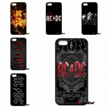 Fashion AC/DC Rock Band ACDC Logo Phone Case Cover For iPhone 4 4S 5 5C SE 6 6S 7 Plus Galaxy J5 J3 A5 A3 2016 S5 S7 S6 Edge