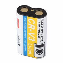 Rechargeable Lithium-Ion Battery 2000mAh Large Capacity Replacement Backup Battery Mercury-free for Kodak CRV3 Camera(China)