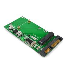 "2 in 1 mSATA Mini SATA to SATA/Mini USB PCI-E SSD 1.8"" to 2.5"" 7+15 22 Pin Converter 2.7CM 5CM 7CM HDD Hard Disk Drive Adaptor"