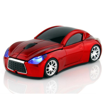 Computer Mouse 2.4GHz Infiniti Sports Car Wireless Mouse 1600 DPI Optical Gaming Mice for PC Laptop