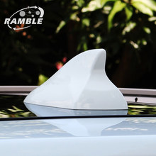 China Patented Ramble Brand Design For Toyota Venza Sienta Shark Fin Antenna Radio Aerial Mount Auto Roof Turning Accessories(China)