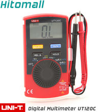 Students School Use Pocket Size Auto Range 4000Counts 400mA 600V Resistance Capacitance Frequency Unit Digital Multimeter UT120C(China)