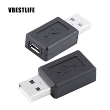 5Piece/Packs New High Speed USB 2.0 Male to Micro USB Female Converter Connector