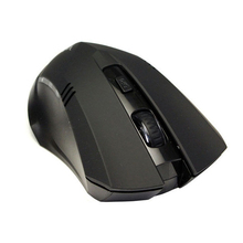 2.4GHz 6 Buttons Wireless USB Receiver Optical Mouse Mice For Laptop Computer PC Black