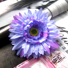 2017 Hot Purple Beauty Flower Hair Clips For Girls Bohemian Style Floral Women Girl Hairpins Accessories Blooming Headwear 1pcs
