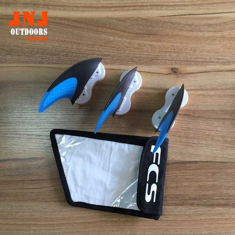 Blue standard surfboard fins FCS L G7 fins with fcs original bag<br><br>Aliexpress
