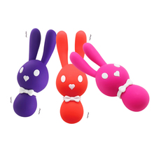 Buy 10 Speed USB Charging Rabbit Vibrating Egg G-spot Nipple & Clitoris Stimulator Massage Vibrator Masturbation Adult Sex Toys A3