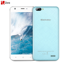 Blackview A7 Dual Back Camera Smartphone 5.0 Inch HD Google Android 7.0 Quad Core 1GB RAM 8GB ROM Unlocked 3G WCDMA Mobile Phone
