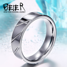 BEIER High Polished Man's Tungsten Ring Cheap Price Wholesale Factory Directly Sell BR-W013(China)