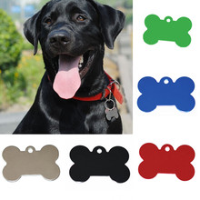 New 2pcs/lot  Pet Tag Identification Phone Telephone Supplies ID Tag DIY Engraving Tag for Cat Dog(not offer Engrave Service)