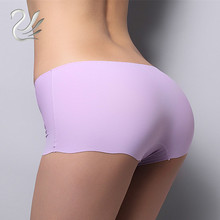 Sexy Women Thong Seamless Underpants Underwear Briefs Panties Safety Pants Free Shipping 8 Colors For Choose(China)