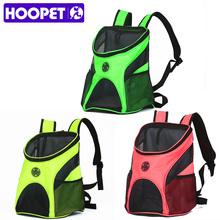 HOOPET Pet Carrier Fashion Breathable Carrying Cat Dog Puppy Comfort Travel Outdoor Shoulder Backpack Portable(China)
