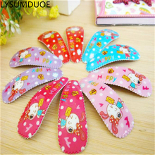 Buy Fashion Gift Baby Girl Hair Accessories Children Kids Hairpins BB Clips Rabbit Barrettes Cartoon Animal Pattern Headdress for $1.09 in AliExpress store