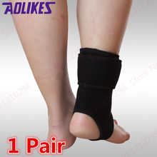 Sport Fitness Protective Ankle Support Compression Anti Sprain Basketball Kick Boxing Breathable Ankle Brace Support Top Quality(China)