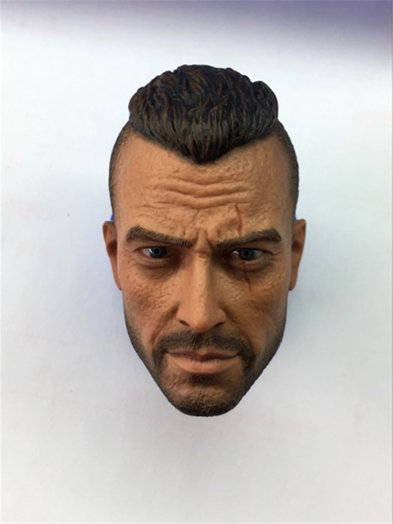 Mnotht Toy custom 1/6 scale Ghost John MacTavish Head Sculpt Call of Duty COD Soap Toys &amp; Hobbies Action &amp; Toy Figures L30<br>
