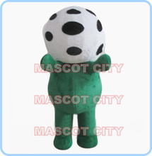 mascot soccer football mascot costume cartoon custom fancy costume anime cosplay kits mascotte fancy dress carnival costume 2530(China)