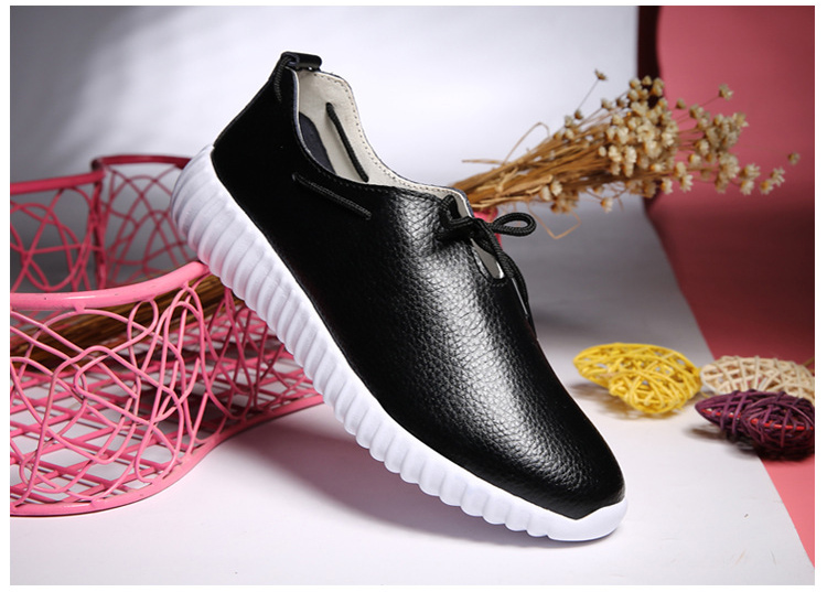 AH 2816 (13) Women's Leather Flats Shoes
