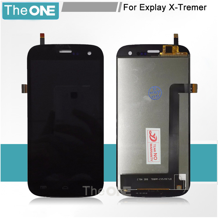 1pcs For Explay X-Tremer X Tremer LCD Display Touch Screen Panel Digitizer Full Assembly Free Shipping<br>