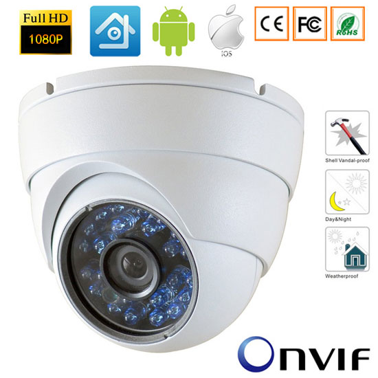 1080P Mini Wired Network IP Camera ONVIF 2.0 Waterproof Indoor IR CUT Night Vision P2P Plug and Play Security Camera-xmeye<br>