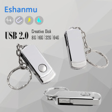 ESHANMU USB Disk 2GB 4GB 8GB 16G 32G Stainless Steel Usb Flash Drive Metal Usb Flash Drive usb Flash Memory Pen Drive 64gb