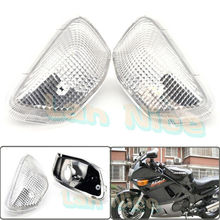 For KAWASAKI ZZR 400 1990-1992 Motorcycle Front Turn signal Blinker Lens White