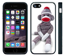 Sock Monkey Doll Stuffed Doll cell phone case cover for for Iphone 4S 5 5S 5C 6 Plus Samsung galaxy S3 S4 S5 6S7edgeNote 2/3/4/5