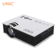 Original UNIC UC40+ Mini Portable LED 3D Projector HDMI Home Theater Beamer Multimedia Proyector Full HD Video