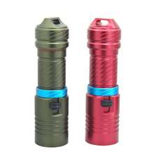 Diving led light 100m Cree XM- L2 26650 flashlight Underwater led light magnetic switch waterproof torch by 18650 or 26650