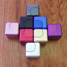 Buy Square Spinner Fidget Cube Two-in-one Hand Spinner Finger Toy Fidget Spinner Stress Relief Desk Spin Toys Reduced Pressure for $60.00 in AliExpress store